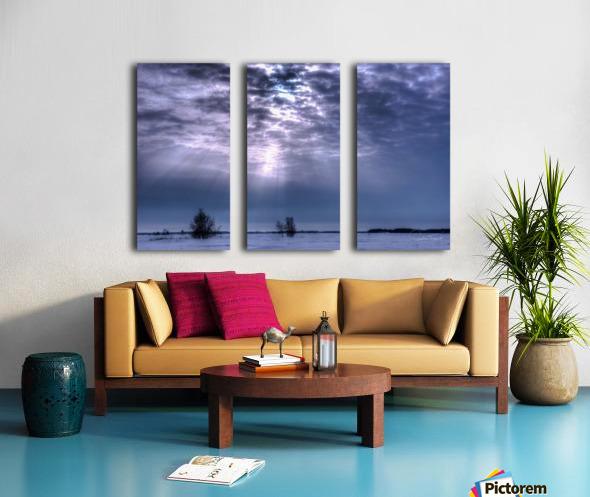 MirabelHDR Split Canvas print