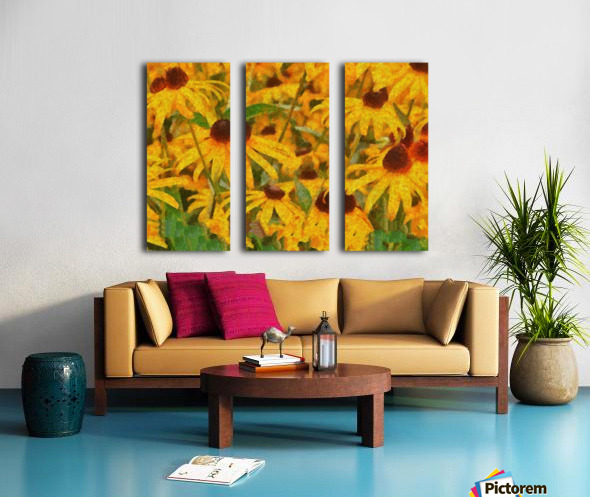 Smile Split Canvas print