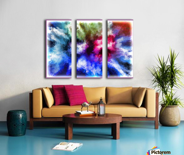 Mind Splash Split Canvas print