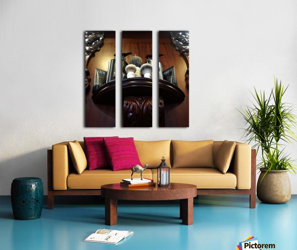 Shave Split Canvas print