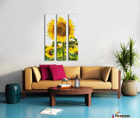 Love Your Smile Split Canvas print