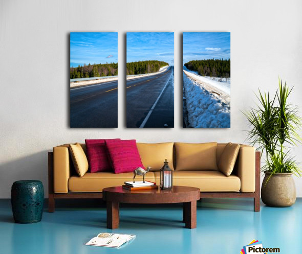 Along the Way Split Canvas print