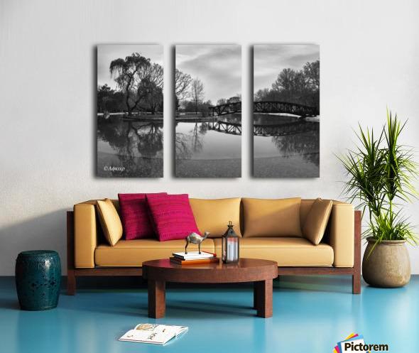 Bridge of dreams Split Canvas print