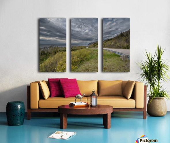Springtime on the Cabot Trail Split Canvas print