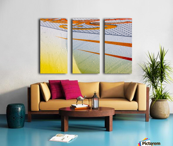 From the Right Split Canvas print