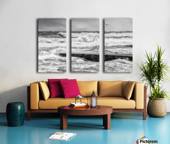 Stormy Seas Split Canvas print