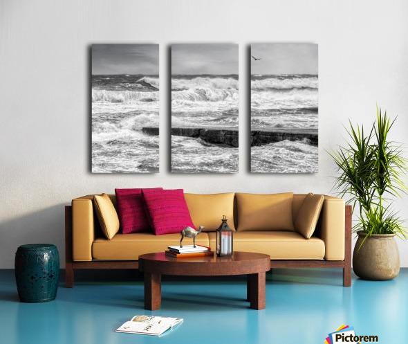 Stormy Seas Split Canvas print