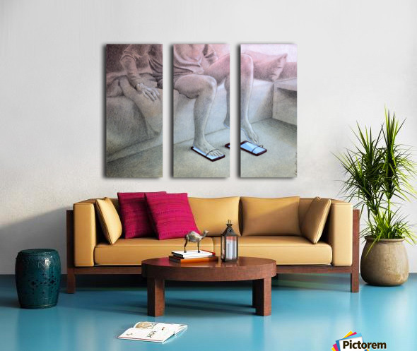 good morning Split Canvas print