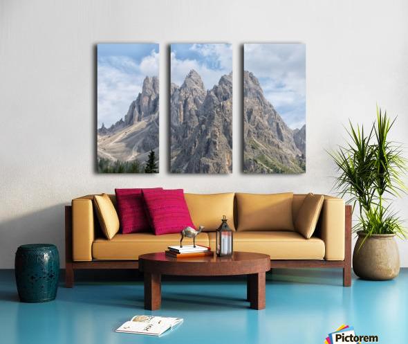 Dolomiti Split Canvas print
