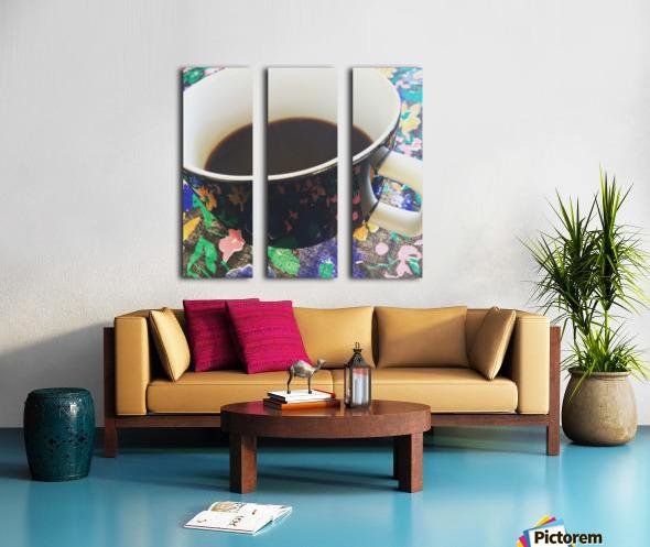 OFFICE Split Canvas print