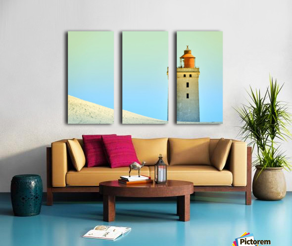 Lighthouse Rubjerg Knude Split Canvas print