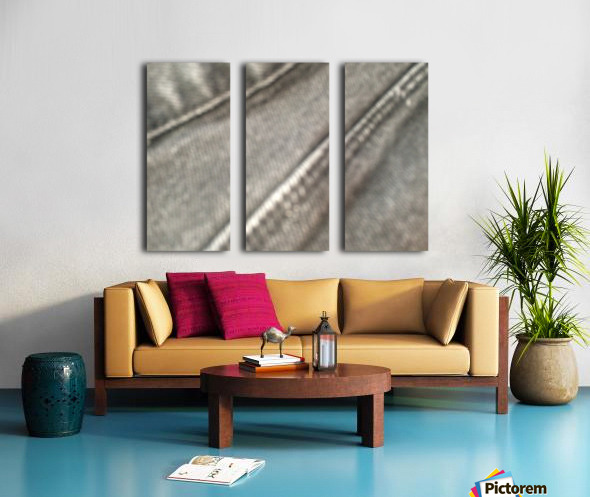 Punk love Split Canvas print