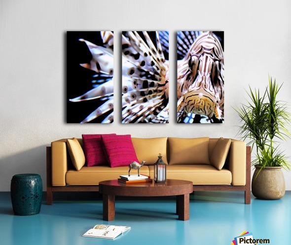 Lion Fish Split Canvas print