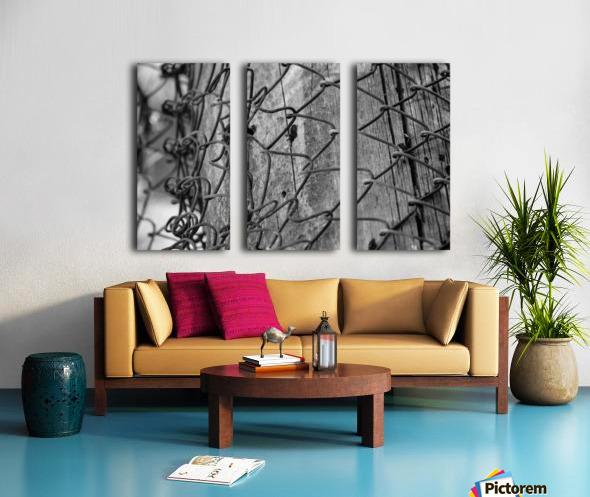Never Letting Go Split Canvas print