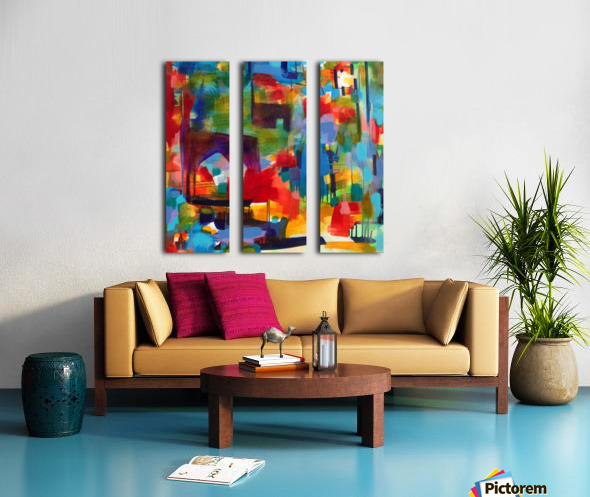 No Wrong Note Split Canvas print
