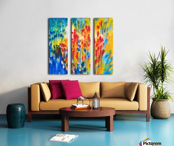 Dream Catching Split Canvas print
