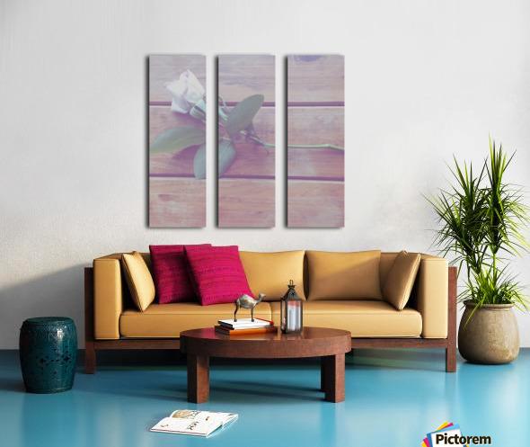 LOST love Split Canvas print