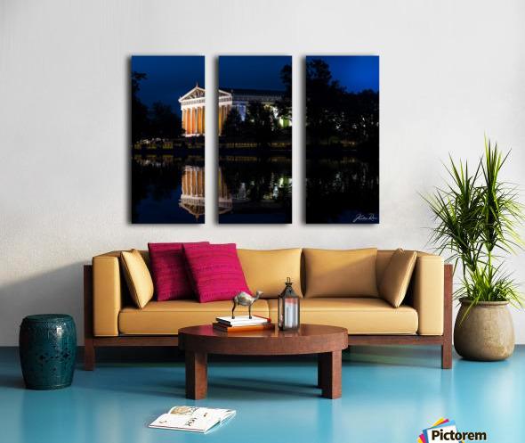 Parthenon in Nashville Split Canvas print