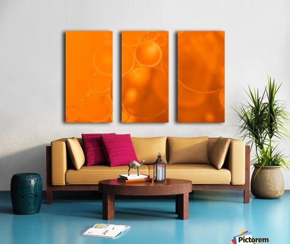 Vitamin C - Vitamine C Split Canvas print
