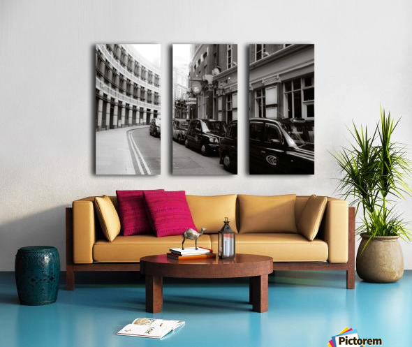 Cabs Split Canvas print