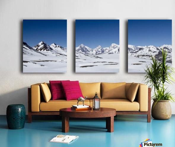 Mountain Range in South Georgia Split Canvas print