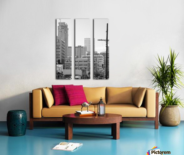 DTLA Near 8th & San Pedro Split Canvas print