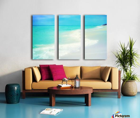 Rosemary Beach Split Canvas print