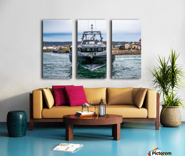 Crabbin Assassin Split Canvas print