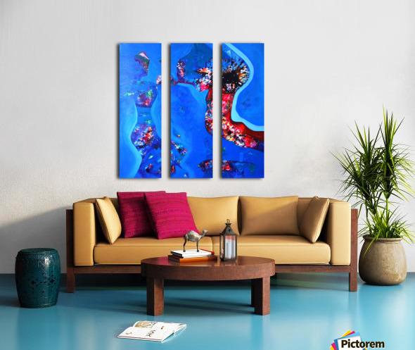 joy Split Canvas print