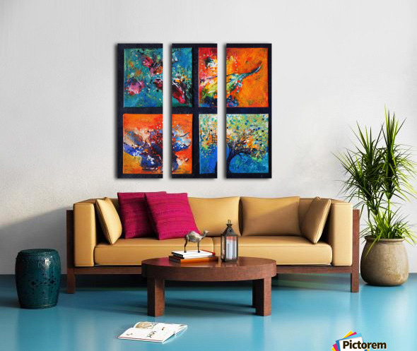 nature  Split Canvas print