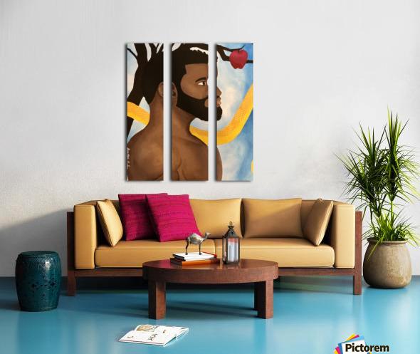 Adam  Split Canvas print