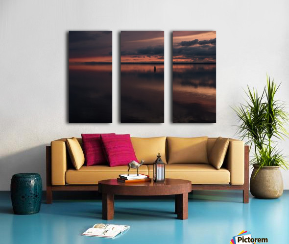 The Last Hour - La Derniere Heure Split Canvas print