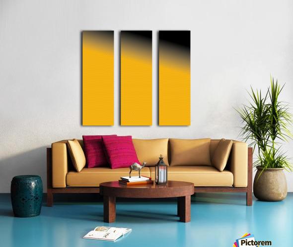 backdrop Split Canvas print