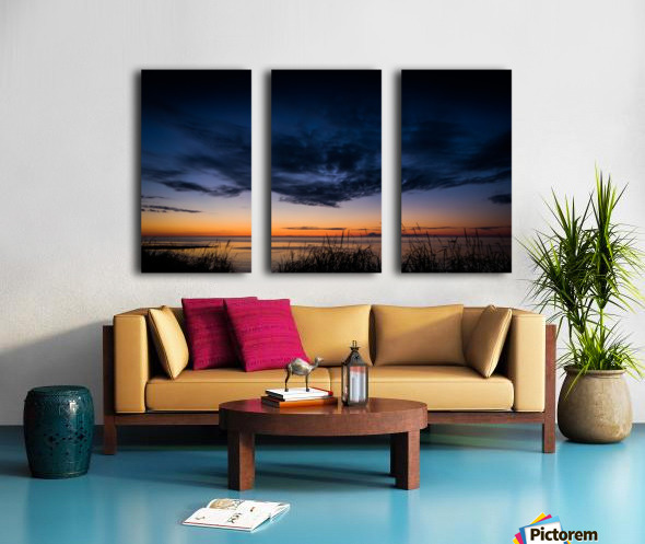 Blue Cloud - Nuage Bleu Split Canvas print
