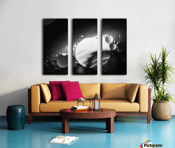 Micro Galaxy - Micro Galaxie Split Canvas print
