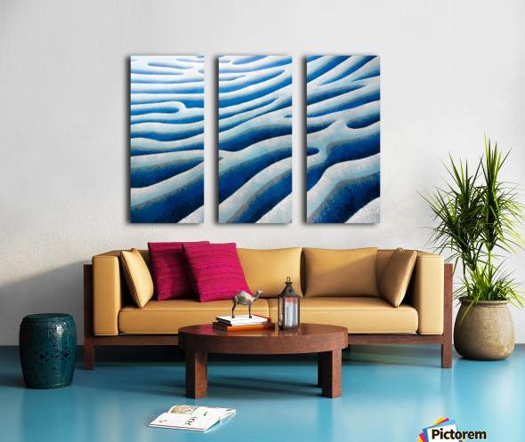 The Ice Field - La Banquise Split Canvas print