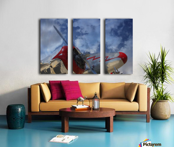 lockheadmodel18 Split Canvas print