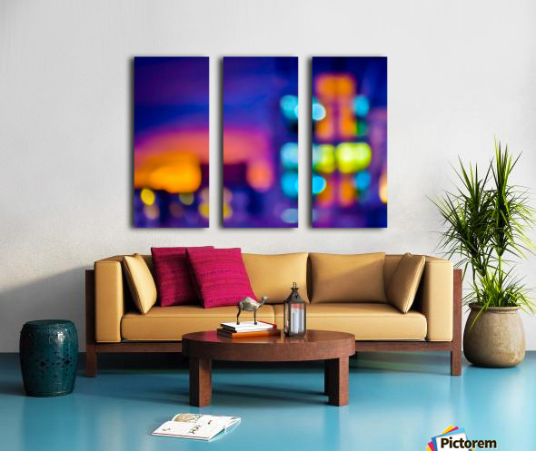 Sunset Blvd Split Canvas print