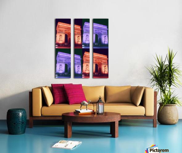 ARC at MIDNIGHT Split Canvas print