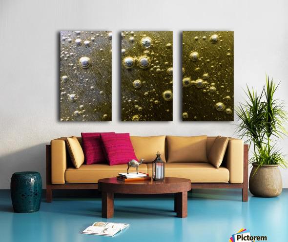 Gold Rush - Ruee vers l Or Split Canvas print