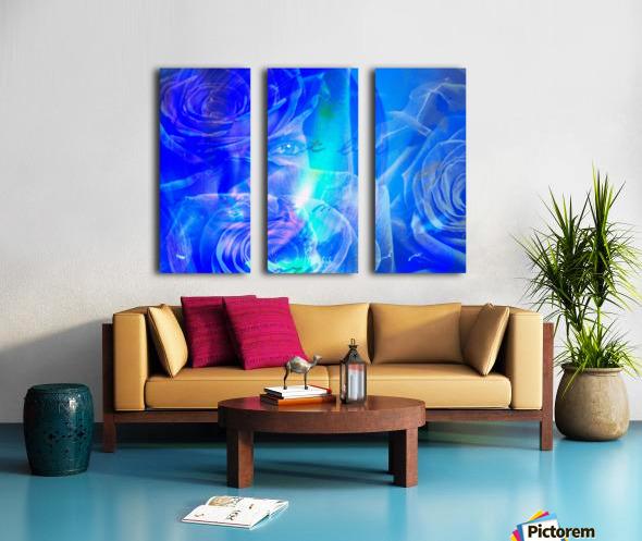 Love Split Canvas print