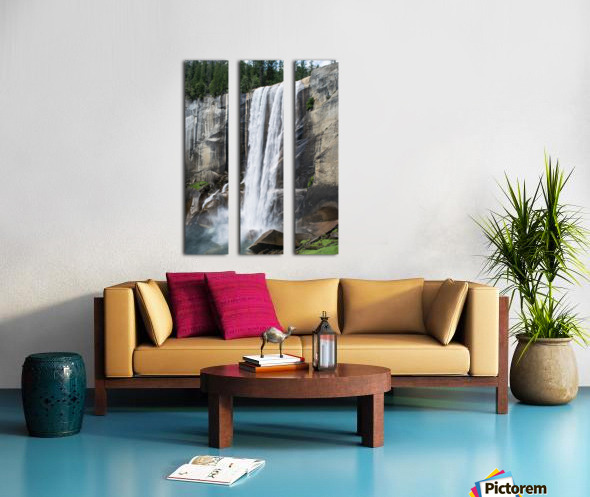 VERNAL Fall Split Canvas print