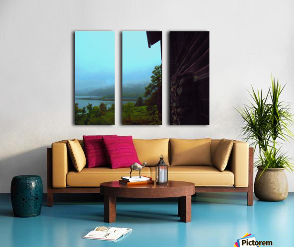 Lake Champlain Split Canvas print