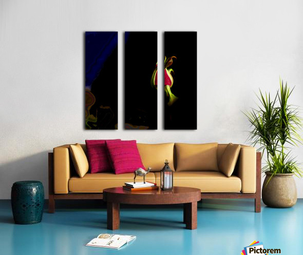This Bud Is For You Split Canvas print
