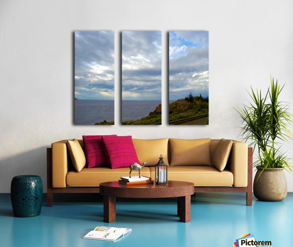 Hwy 9 to Seward Split Canvas print