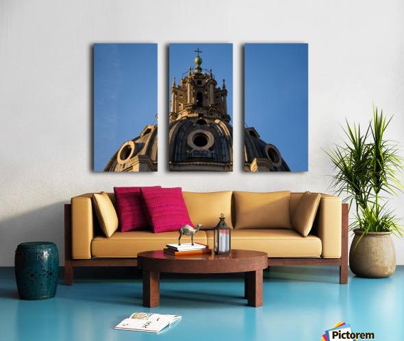 Italy with love Split Canvas print