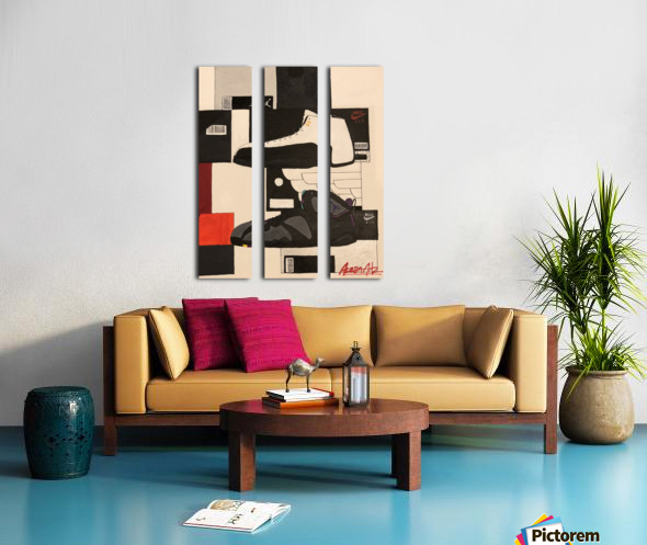 Top 5 - 2 Split Canvas print