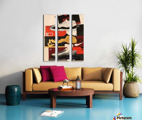 Top 5 - 1 Split Canvas print