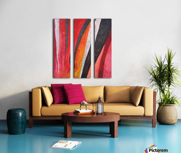 Flames (v)_1526764981.53 Split Canvas print