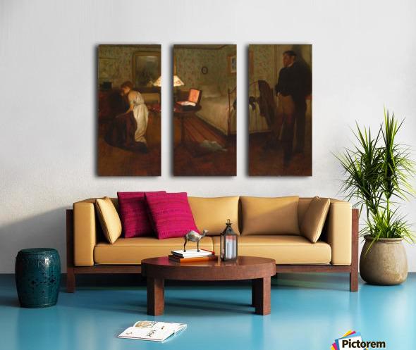 Interior Split Canvas print